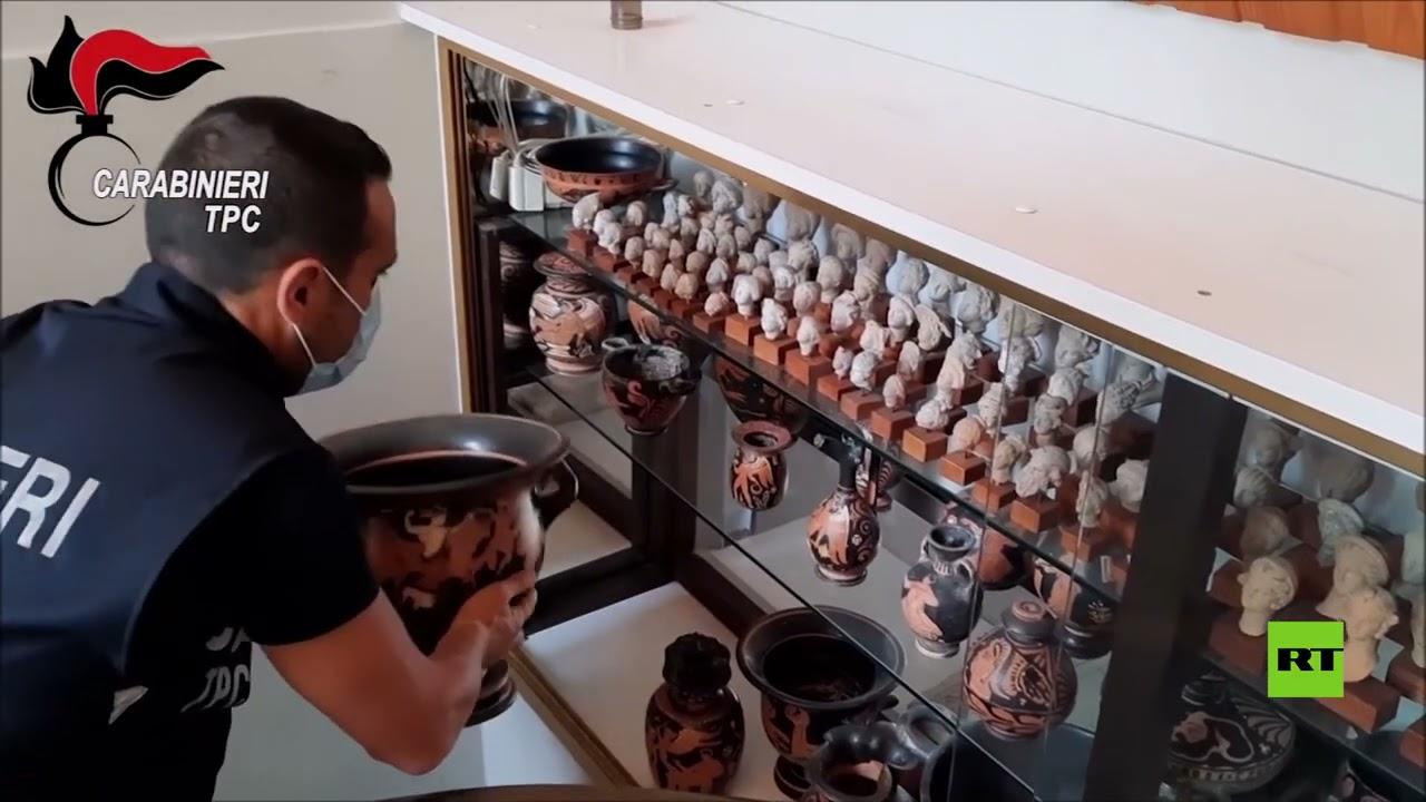 إيطاليا تستعيد نحو 800 قطعة أثرية  - نشر قبل 8 ساعة
