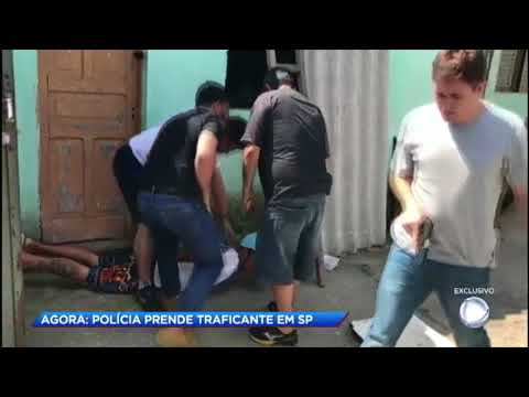 Operação policial prende traficantes em Mogi das Cruzes (SP)