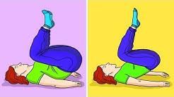 5-Minuten Fettverbrenn-Workout fürs Bett