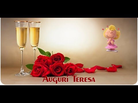 Favori BUON ONOMASTICO TERESA - YouTube EX68