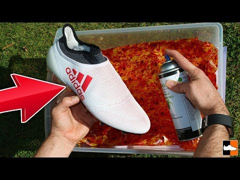 How To Hydro Dip ⚽ with Hydrographic Film! Boots & Cleat Custom!