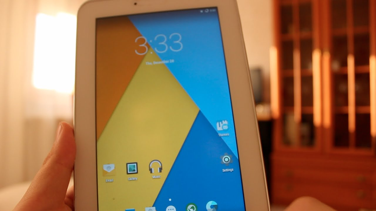 How to install Android 5 1 1 Lollipop on Samsung Galaxy Tab 2