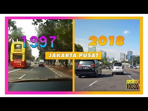 JAKARTA 1997 Vs 2018: Perbandingan Jakarta Pusat Tempo Dulu Dan Sekarang
