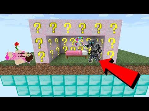 Minecraft: GLITCH LUCKY BLOCK BEDWARS! - Modded Mini-Game