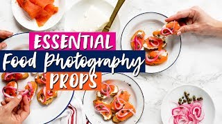 6 ESSENTIAL Food Photography Props + REAL Photoshoot Examples