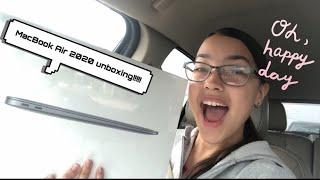 MacBook Air 2020 unboxing!!!