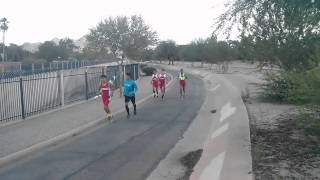Glendale Cross Country Warm Up - Oct. 21,2015