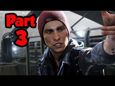 Infamous Second Son Walkthrough Part 3 - HELLO SEATTLE - Gameplay Playthrough (PS4 1080p HD)