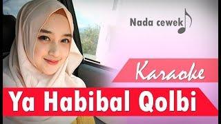 Karaoke Ya Habibal Qolby # cewek | Haneef La