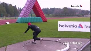 Team Helvetia #4: TV-Werbung – Kugelstossen