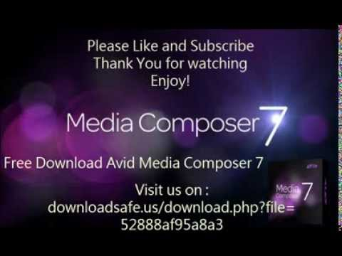 Avid media composer 7 FREE DOWNLOAD