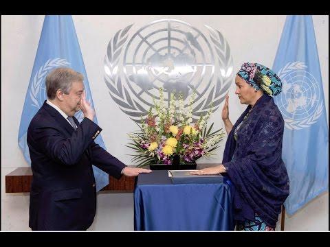 Amina Mohammed sworn-in as UN Deputy Secretary-General