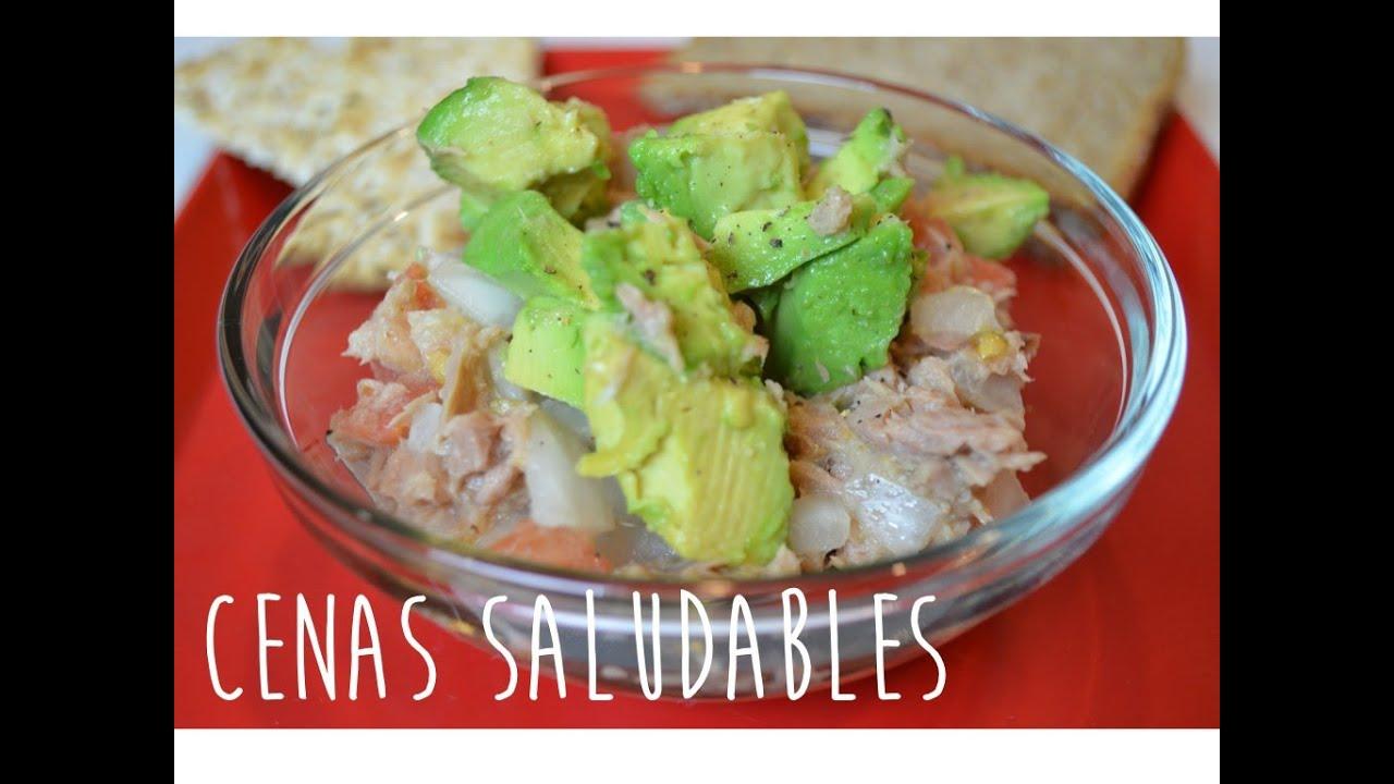 Cenas saludables youtube for Comidas rapidas y sanas