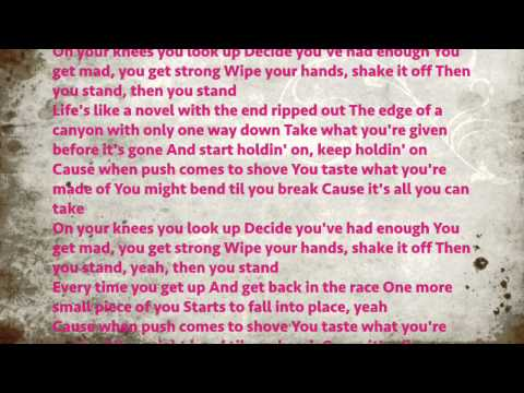 Stand cassadee pope lyrics