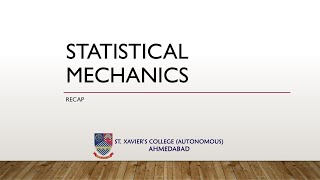 Macrostate | Microstate | Phase Space | Gamma Space | Ensemble In Statistical Mechanics | SXCA