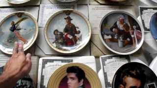 collectors plates ~ 720p HD