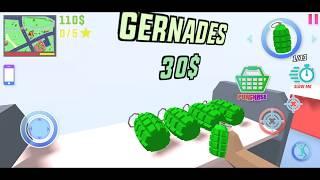 Dude Theft Wars #77 | Gernades BOOOOOM | New Update AIRPORT | Android GamePlay FHD