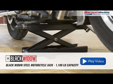 Black Widow Motorcycle Lift Jack