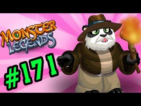 Monster Legends Game Mobiles - Nở Trứng Pháp Sư Lửa Panda - Thế Giới Quái Vật #171
