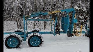 Манипулятор для мини трактора самодельный.
