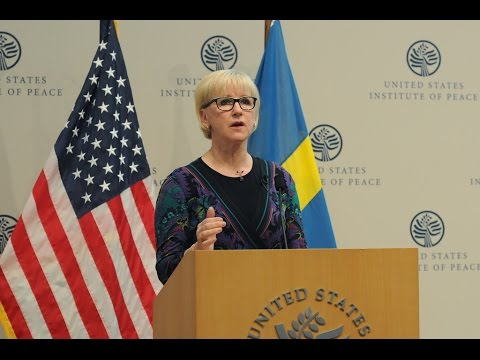 Global Security and Gender - A Forum with Sweden's Foreign Minister Margot Wallström