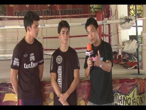 """สองพี่น้องปินโต้ """"สุภาพบุรุษไทยไฟต์"""" ตอนที่ 1"""