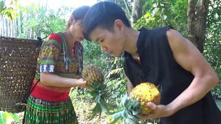 Survival skills: Primitive life finding food - Yummy cooking eggs - Eating delicious