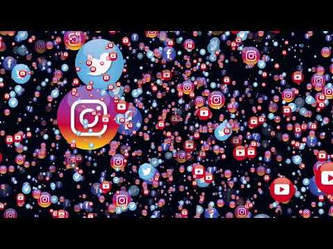 Free Social Media Icons Animation thumbnail