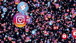 Free Social Media Icons Animation