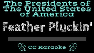 The Presidents of the United States of America Feather Pluckin CC Karaoke Instrumental