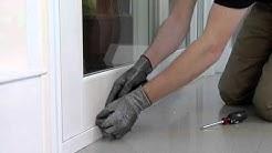 How To: Adjust Sliding Glass Door Rollers