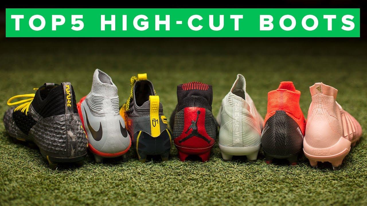 TOP 5 BEST HIGH CUT FOOTBALL BOOTS 2018