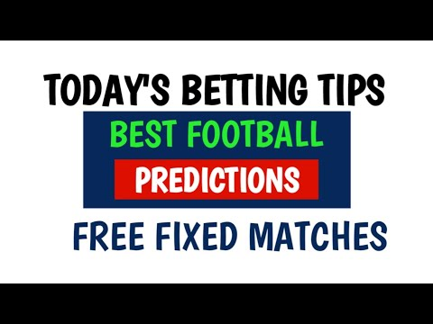All match predictions today/betting kanalrohr betting typ 113