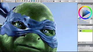 Digital speed painting | Ninja Turtle [Corel Painter 12] [Long version]