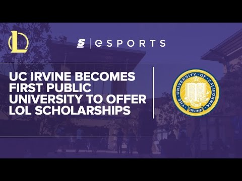 UCI: The first public university to offer LoL scholarships