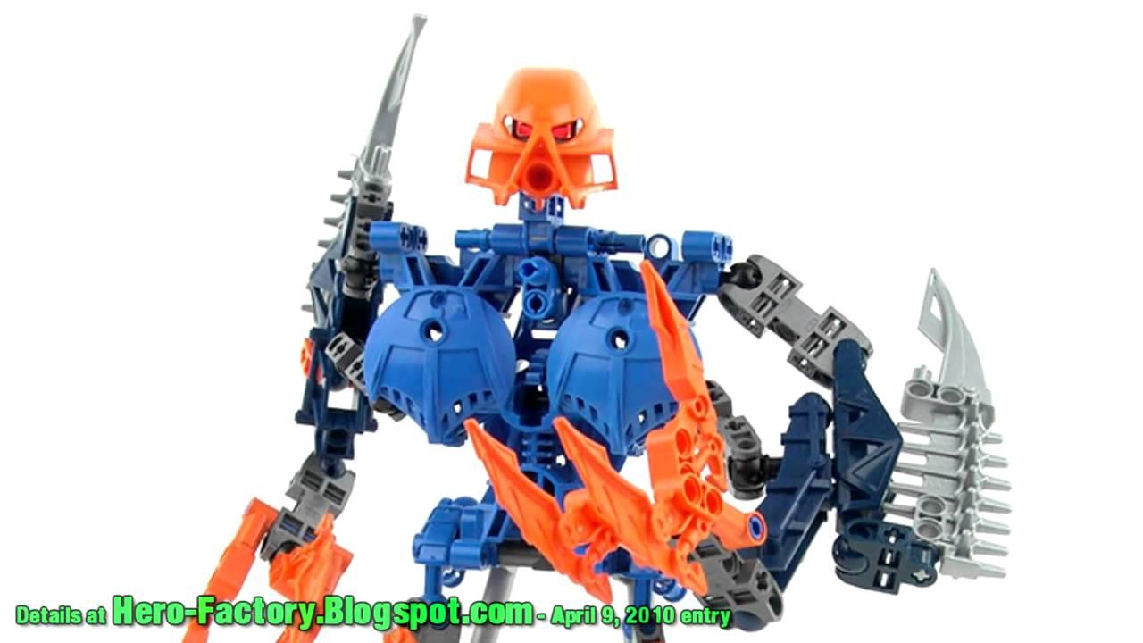 Lego Hero Factory Moc Gerulan Villain Youtube