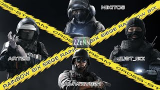 Cross-Stream Rainbow Six Siege: Выпуск 3