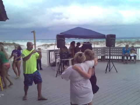 Evening entertainment at the Tiki Bar (karaoke)