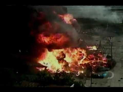 Gas Tanks Explode at Dallas Facility