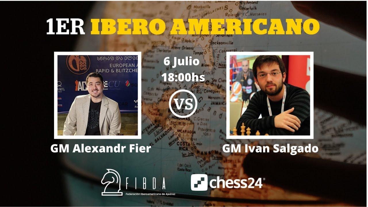 Iberoamericano online: GM Alexandr Fier vs GM Salgado López, Iván