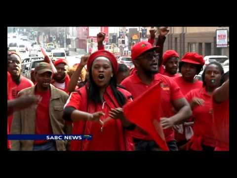 IFP, NFP, EFF, AL-Jama-ah also hold their campaigns across the country