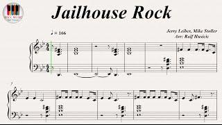Video Jailhouse Rock - Elvis Presley, Piano download MP3, 3GP, MP4, WEBM, AVI, FLV Mei 2018