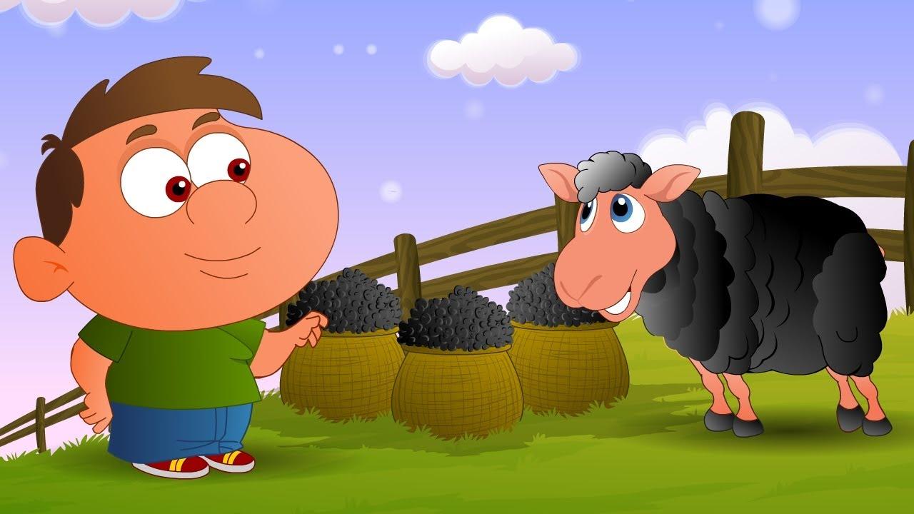 Baa Baa Black Sheep - English Nursery Rhymes - Cartoon And ...