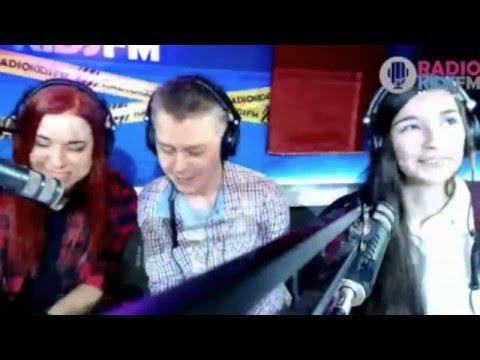 """РЭЙ и Софья Цветкова представляют сингл """"Вселенная"""" на радио KIDS FM [19.02.2016]"""