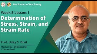 Determination of Stress, Strain and Strain Rate