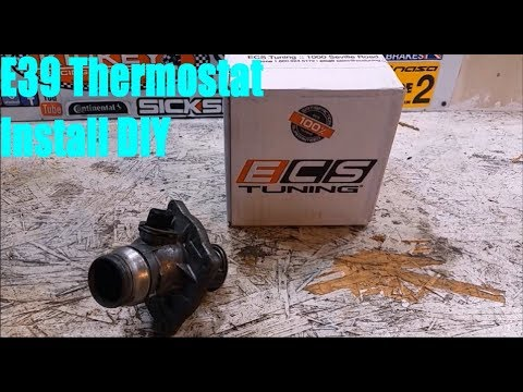 E39 BMW 540i 88C Thermostat Install DIY (Cooling Overhaul Part 2 of M Thermostat Wiring Diagram on thermostat schematic diagram, refrigerator schematic diagram, baseboard heat diagram, thermostat wire, thermostat housing, thermostat white-rodgers wiringheatpump, thermostat installation, air conditioning diagram, thermostat symbol, thermostat troubleshooting, honeywell thermostat diagram, thermostat cable, thermostat manual, thermostat switch, thermostat clip art, controls for gas valve diagram, wall heater thermostat diagram, thermostat cover, circuit diagram,