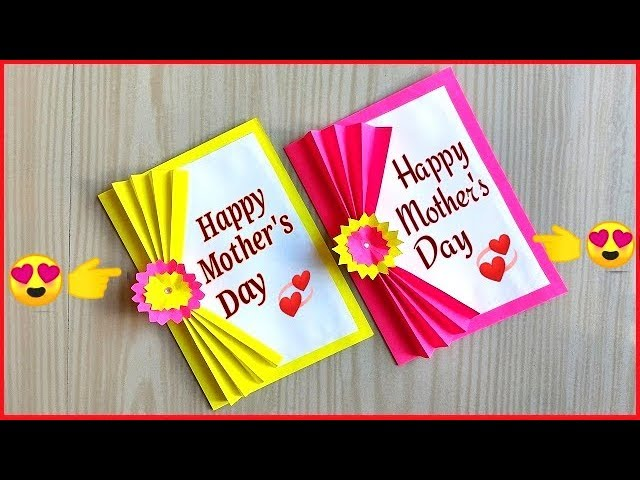 Mother S Day Card Making Handmade Easy And Beautiful Card For Mother S Day Birthday Cards Youtube
