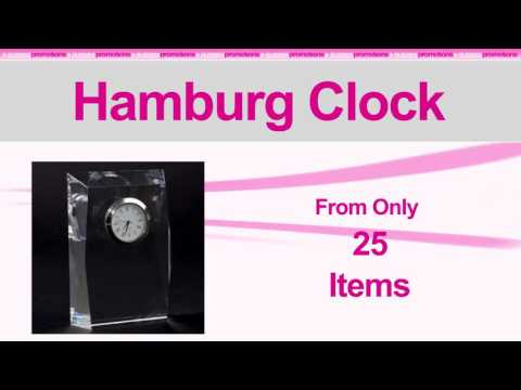 Branded Hamburg Clock | Personalised Executive Gifts