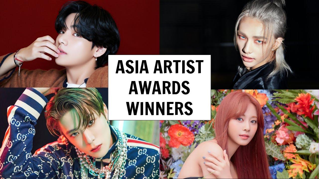 Asia Artist Awards 2020 Winners Youtube