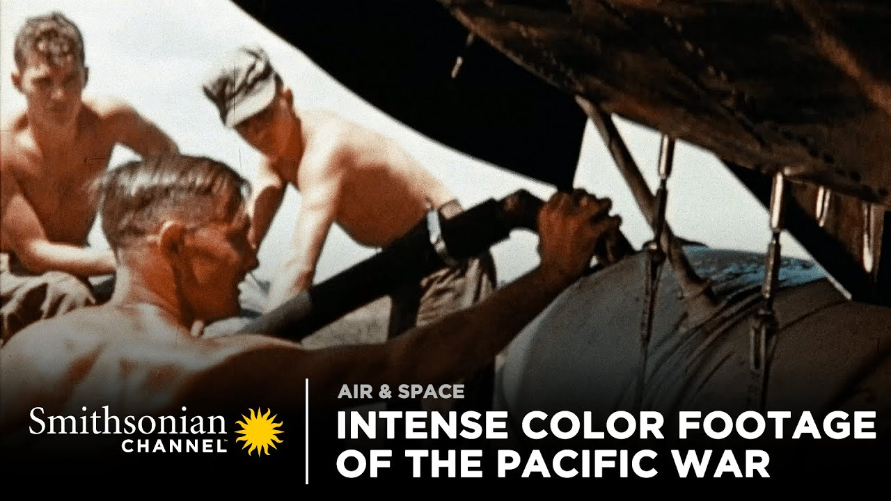 Download Intense Footage of the Pacific War in Color | Smithsonian Channel